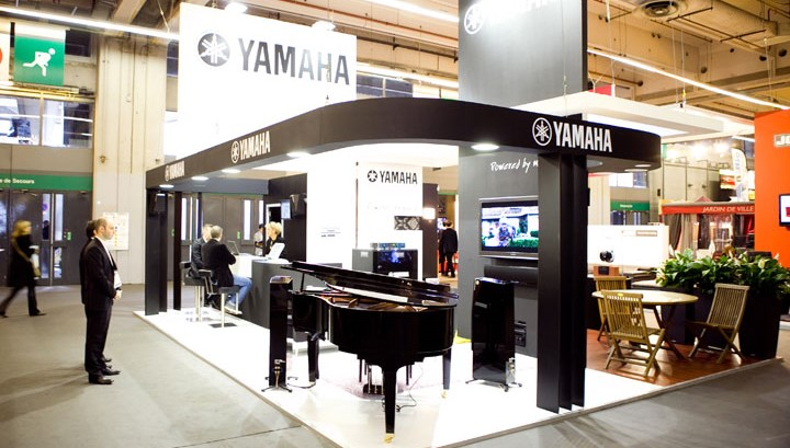 Les solutions audio Yamaha Music Europe au salon EQUIP'HOTEL 2010