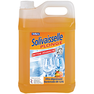 Solivaisselle Plonge Désinfection agrumes 5L