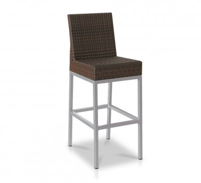 Tabouret haut structure aluminium Collection Havana